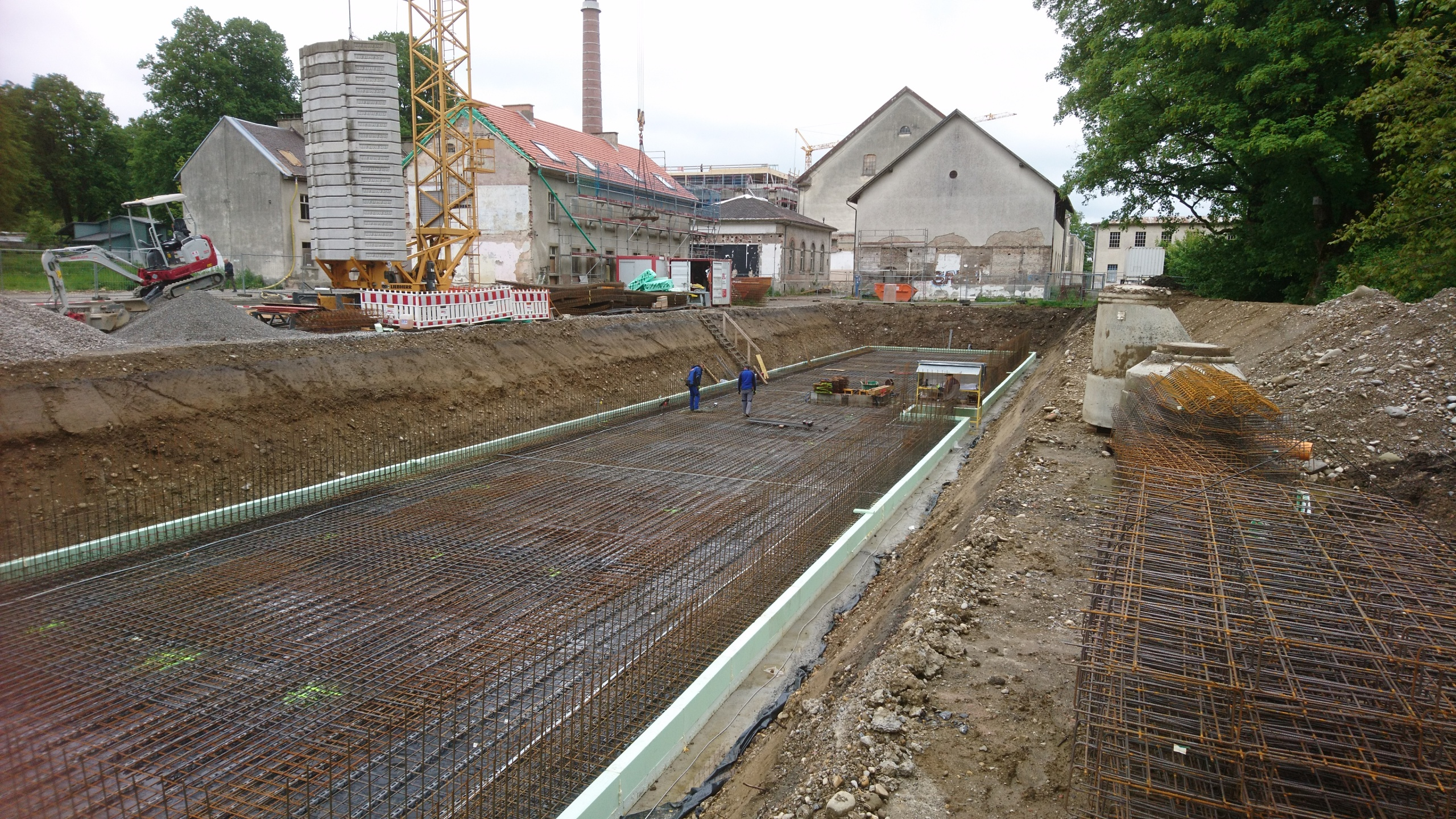 Fundament Kanalhaus