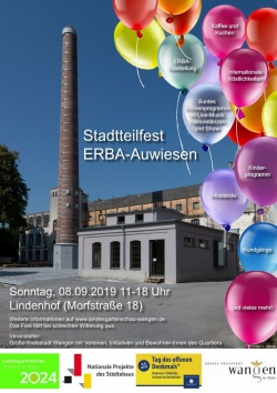 Stadtteilfest am 8. September