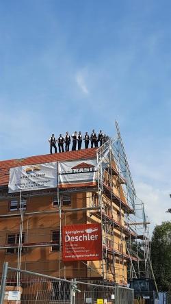 Richtfest Kanalhaus am 10. Sept. 2021